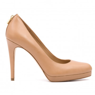 pumps woman michael kors 40r7athp1l antoinette pump toffee 1645