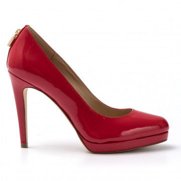 pumps woman michael kors 40r7athp1l204 antoniette pump red 1659