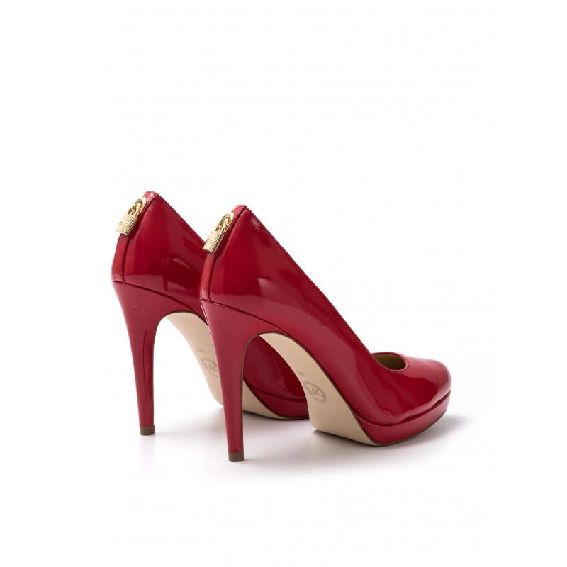 pumps woman michael kors 40r7athp1l204 antoniette pump red 1659