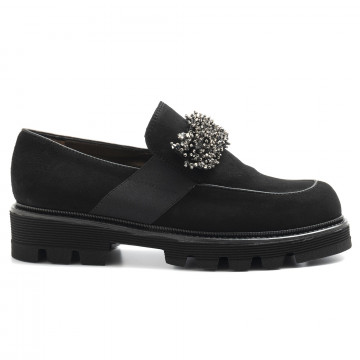 slip on woman alfredo giantin 6426 cam nero 5115