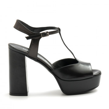 sandals woman silvia rossini 2210 107capri nero 4595