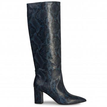 boots woman janet  janet 44601ingrid bleu 6112