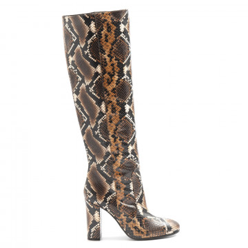boots woman via roma 15 2620anaconda 6129