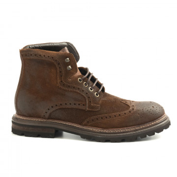 lace up ankle boots man brecos 9155193 go rain 6146