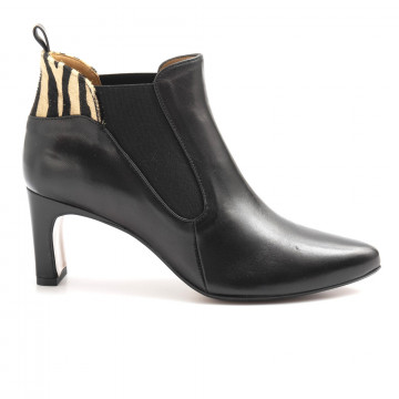 booties woman audley 21254cora black 6153