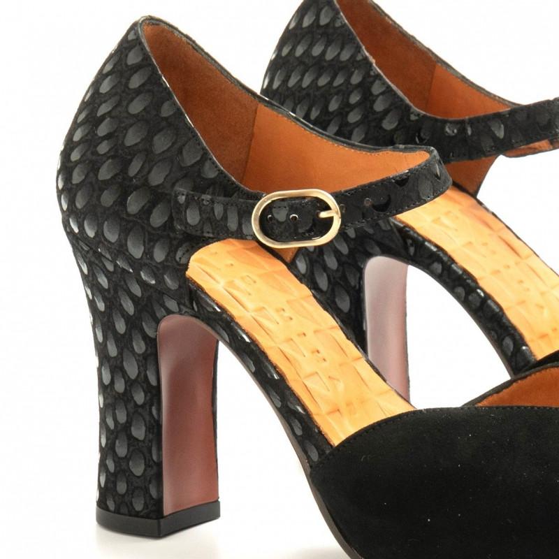 pumps woman chie mihara dacil negro 6193