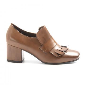 loafers woman calpierre da108virap castano 6226