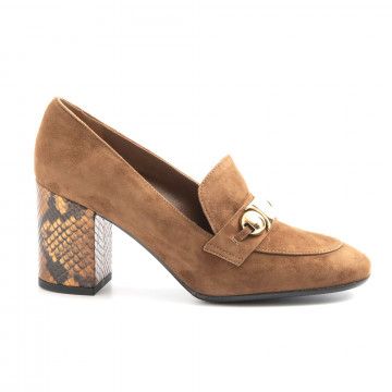 loafers woman chantal h354cam sigaro 6219
