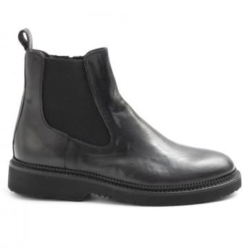 booties woman sangiorgio d605montone nero 6250