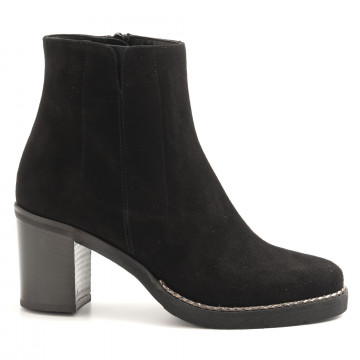 booties woman luca grossi f099cam nero 6284