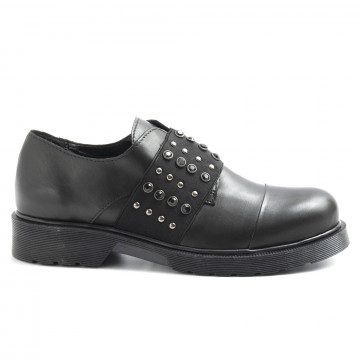 slip on woman nh24 re2355vit nero 6286