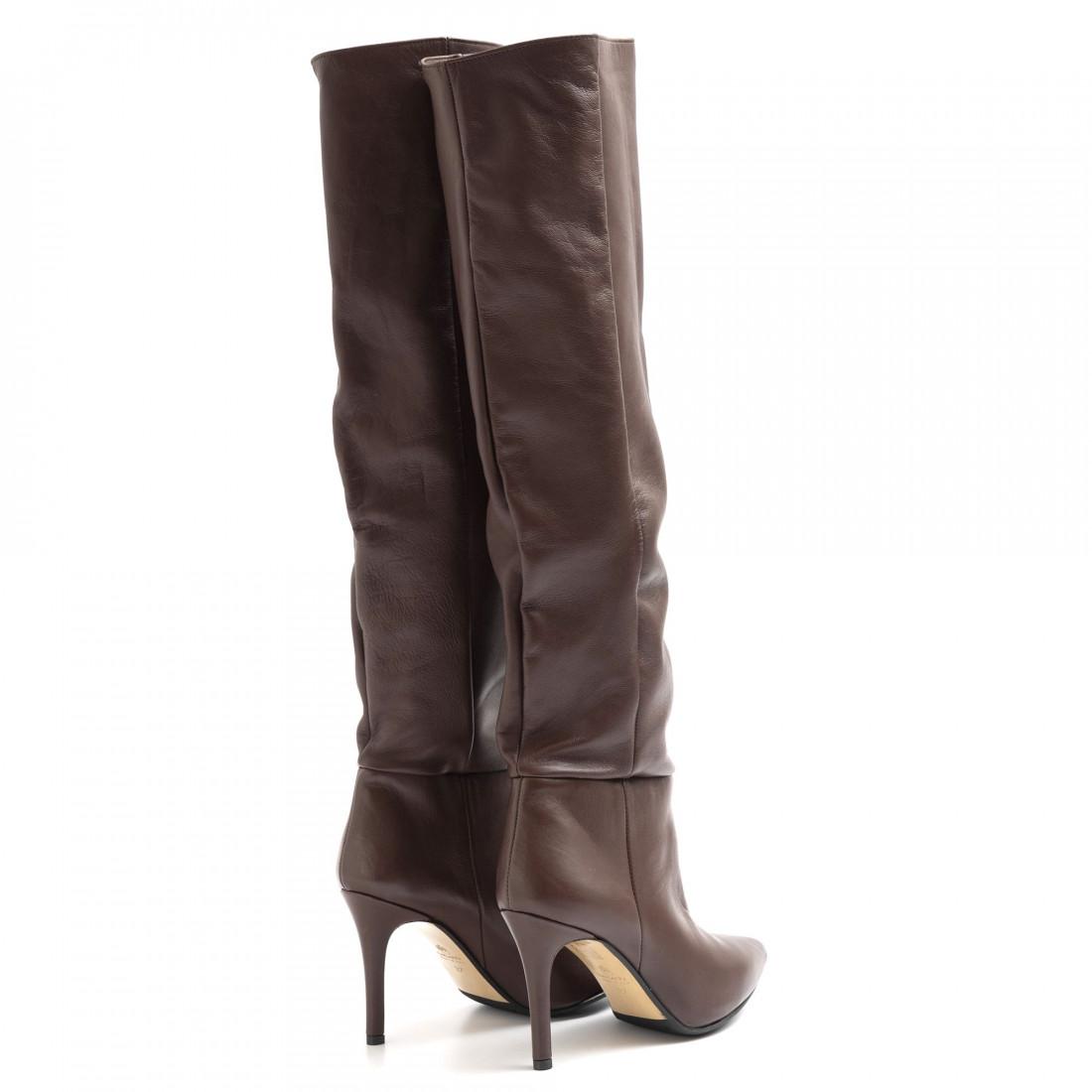 boots woman larianna st 1175piuma moro 6292