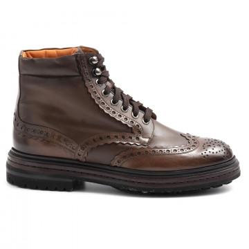 lace up ankle boots man santoni mgmi16851jl9esgxs50 6301