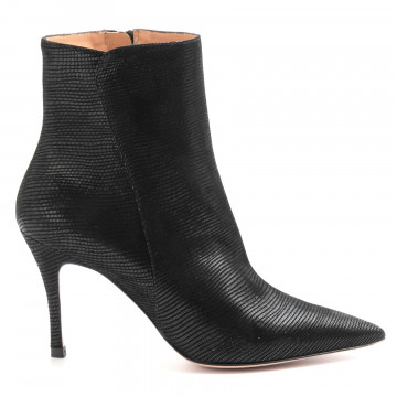 booties woman roberto festa elsevaranus nero 6142