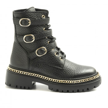 military boots woman stokton blk32bost  6131