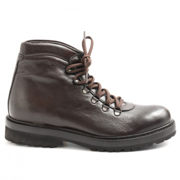 lace up ankle boots man sangiorgio 6002montone t moro 6244