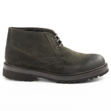 lace up ankle boots man sangiorgio 6000cam bosco 6245