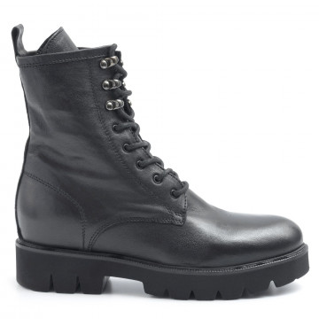 military boots woman keb 609top nero 6389