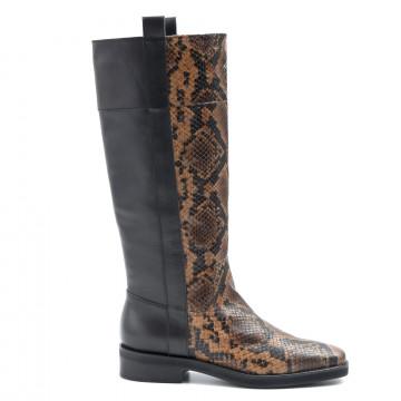 boots woman janet  janet 44004ingrid cognac 6408