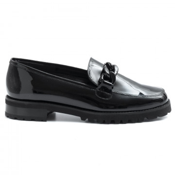 loafers woman luca grossi f086vern nera 6412