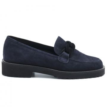 loafers woman luca grossi f086cam blu 6416