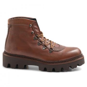 military boots woman sangiorgio d500montone cuoio 6431