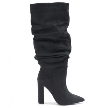 boots woman steve madden smsslouchblk 6452