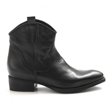 booties woman zoe new topocanguro nero 5019