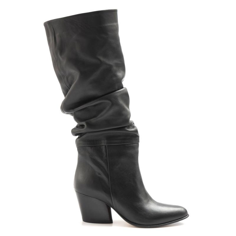 stiefel  boots damen sangiorgio 6347piuma nero 6513