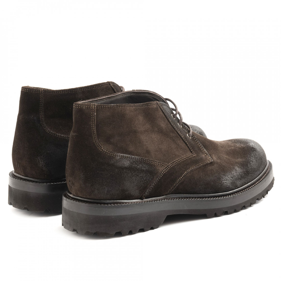 lace up ankle boots man sangiorgio 6000cam t moro 6509