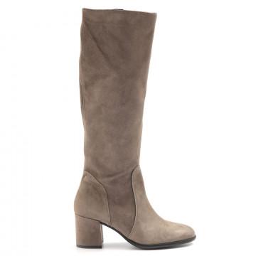 boots woman sangiorgio p626cam taupe 6521