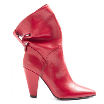booties woman nailah t 196rosso 6469