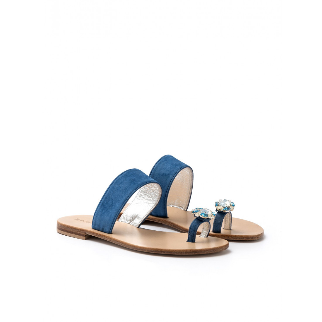 sandals woman positano 4807 camoscio avion 538
