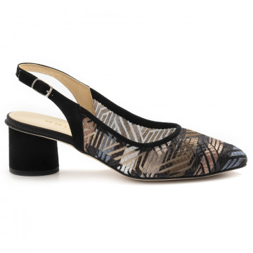 pumps woman brunate 51045rete andy 6885