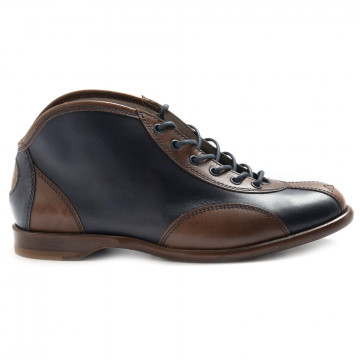lace up man botti 498blu 6879