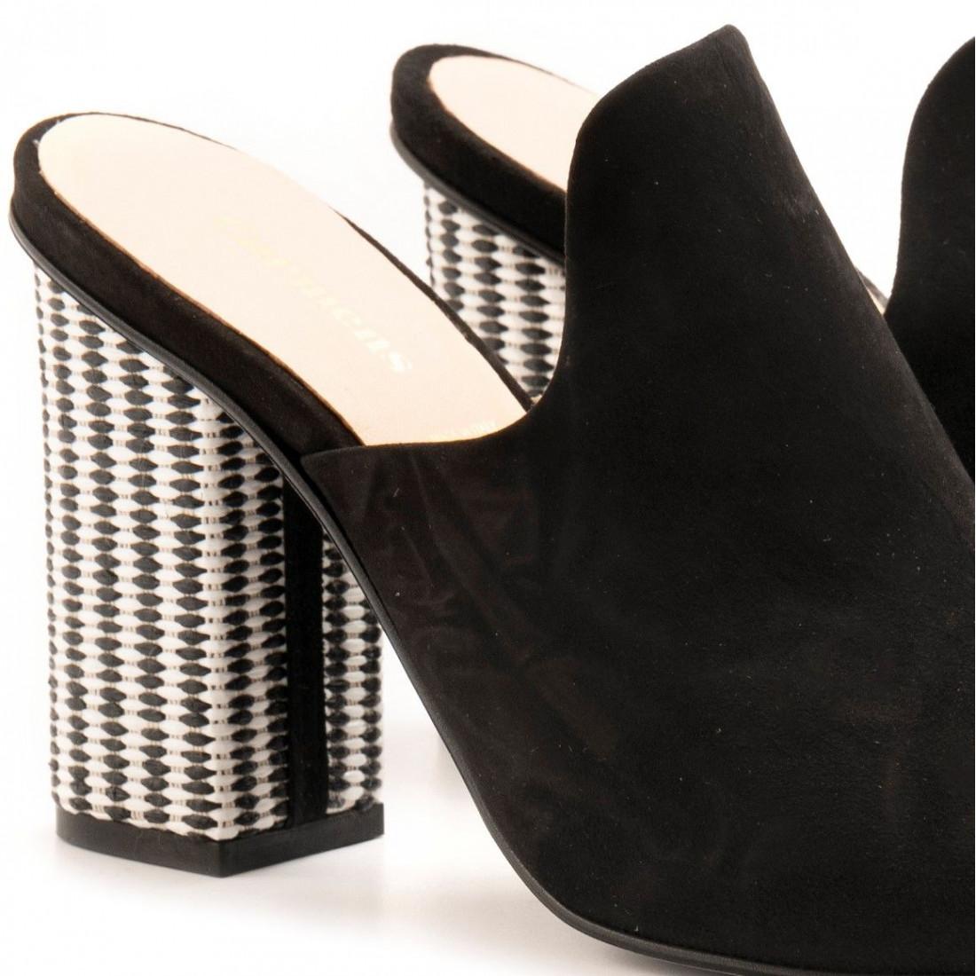 sandals woman carmens 41489ontario nero 6939