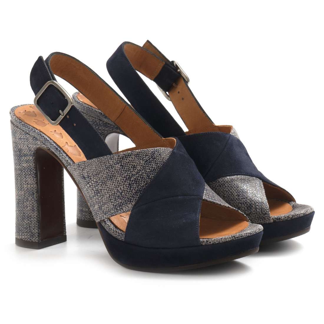 sandals woman chie mihara camil polam blue 6949