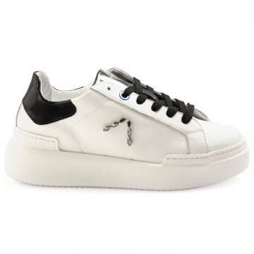 sneakers woman ed parrish ckld st20white calf 6880