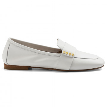 loafers woman nouvelle femme 433nappa bianco 6975
