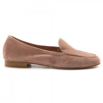 loafers woman nouvelle femme 514camoscio clay 6977
