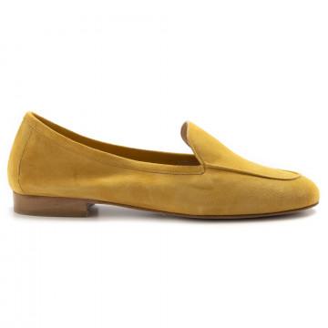 loafers woman nouvelle femme 514camoscio senape 6978