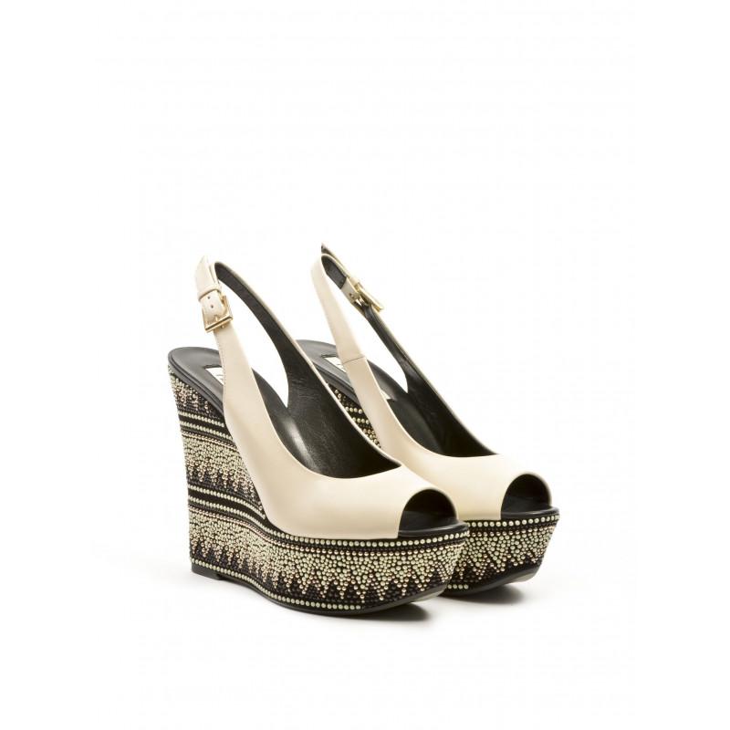 sandals woman ninalilou 261310 bulgaro angora 333
