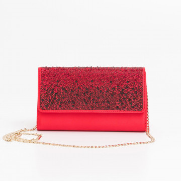 clutches woman anna cecere aca053 strass rubino 2578