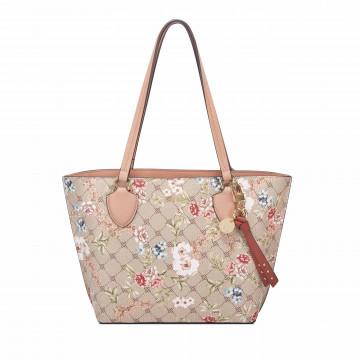shoulder bags woman nine west ngl109822lfl logo floral 6541