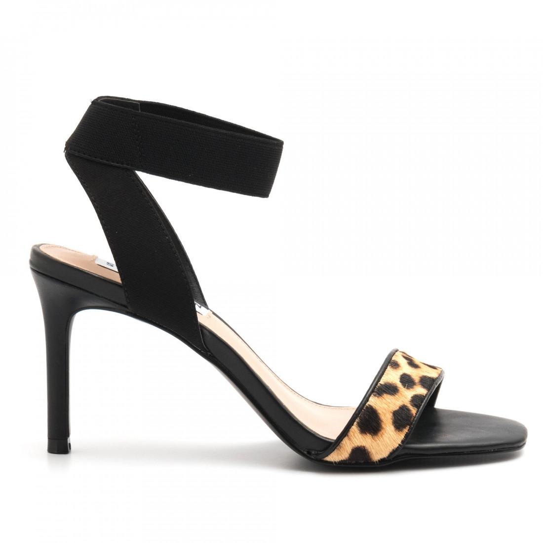 Steve Madden Fondu Leopard Multi Sandal