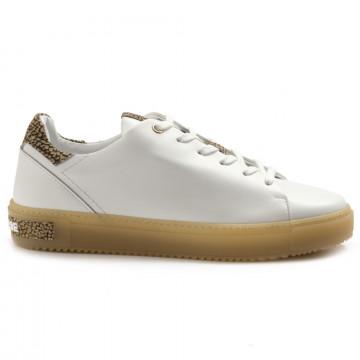 sneakers woman borbonese 516vit bianco 5001 6965