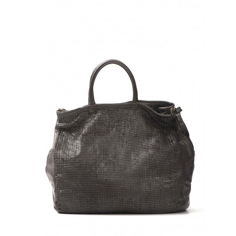 handbags woman reptiles house h346pixel taupe 452