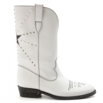 boots woman via roma 15 3323malibu bianco 6819