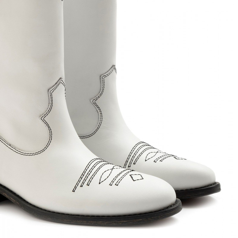 stiefel  boots damen via roma 15 3323malibu bianco 6819