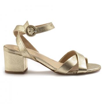 sandals woman les tulipes 1010brillo platino 6987